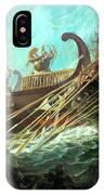Battle Of Salamis, 480 Bce IPhone Case