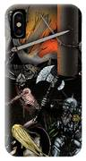 Battle With The Mage-king IPhone Case