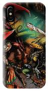 Battle With The Undead Dragon IPhone Case
