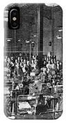 Baudot Telegraph System IPhone Case