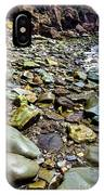 Bay Of Fundy Shoreline IPhone Case