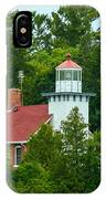 Bay Of Green Bay Lighthouse IPhone Case