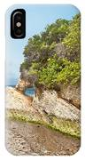 Beach At Montana De Oro IPhone Case