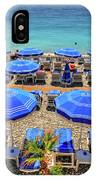 Beach At Nice France IPhone Case