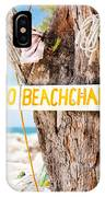 Beach At Rum Point IPhone Case