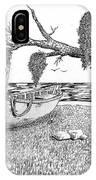 Beach Boat IPhone Case