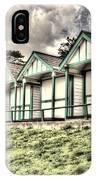 Beach Huts 4 IPhone Case