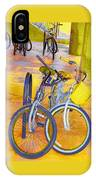 Beach Parking For Bikes IPhone Case