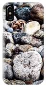 Pebbles On Beach IPhone Case