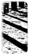Beach Shadows IPhone Case