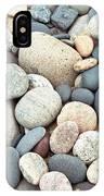 Beach Stones IPhone Case