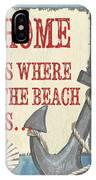 Beach Time 2 IPhone Case