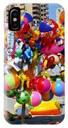 Beach Toys At Manta Beach Ecuador IPhone Case