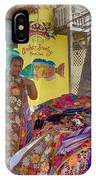 Beach Vendor IPhone Case