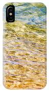 Beach Water Abstract IPhone Case