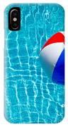 Beachball On Pool IPhone Case
