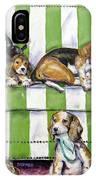 Beagle Mania IPhone X Case