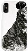 Beaming Berner IPhone Case