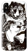 Bear And Cat IPhone Case