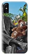 Bear And His Mentors Walt Disney World 03 IPhone Case
