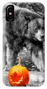 Bear And Pumpkins Too IPhone Case