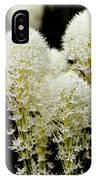 Bear Grass Flowers Glacier National Park IPhone Case