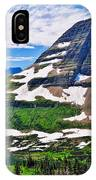 Bearhat Mountain IPhone Case