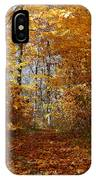Beautiful Autumn Sanctuary IPhone Case