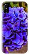 Beautiful Blue Hydrangea IPhone Case