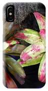 Beautiful Bromeliads IPhone Case