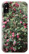 Beautiful Camellia Bush IPhone Case