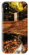Beautiful Canyon And Waterfall IPhone Case