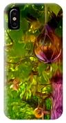 Beautiful Colored Glass Ball Hanging On Tree 2 IPhone Case