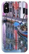 Beautiful Colors Of Burano IPhone Case