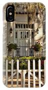 Beautiful Entryway On The Isle Of Hope IPhone Case