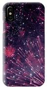 Beautiful Fireworks 12 IPhone Case