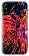 Beautiful Fireworks 14 IPhone Case