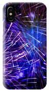 Beautiful Fireworks  3 IPhone Case