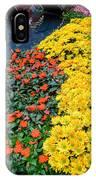 Beautiful Flower Garden Bellagio Las Vegas IPhone Case