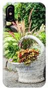Beautiful Flowers In Basket IPhone Case