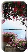 Beautiful Flowers Of Ravello Italy IPhone Case