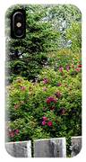 Beautiful Front Yard - Roses - Trees IPhone Case