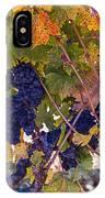 Beautiful Grape Harvest IPhone Case