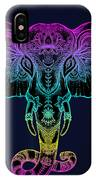 Beautiful Hand-drawn Tribal Style IPhone X Case