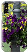 Beautiful Hanging Flowers IPhone Case