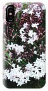 Beautiful Jasmine Flowers In Full Bloom IPhone Case