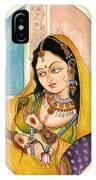 Beautiful Lady IPhone Case