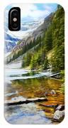 Beautiful Lake Agnes IPhone Case