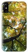 Beautiful Leaf Blanket IPhone Case