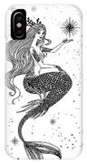 Beautiful Mermaid With Star In Her IPhone X Case